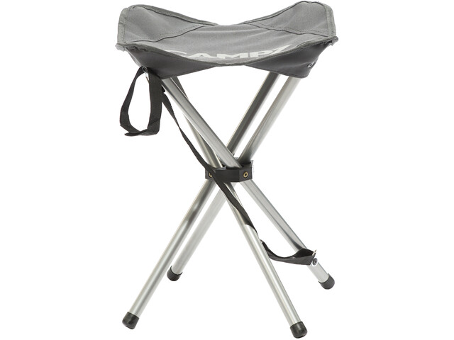 CAMPZ 4 Legs Folding Stool, grey